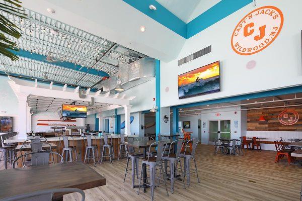 Capt'n Jack's Island Grill In Wildwood, NJ